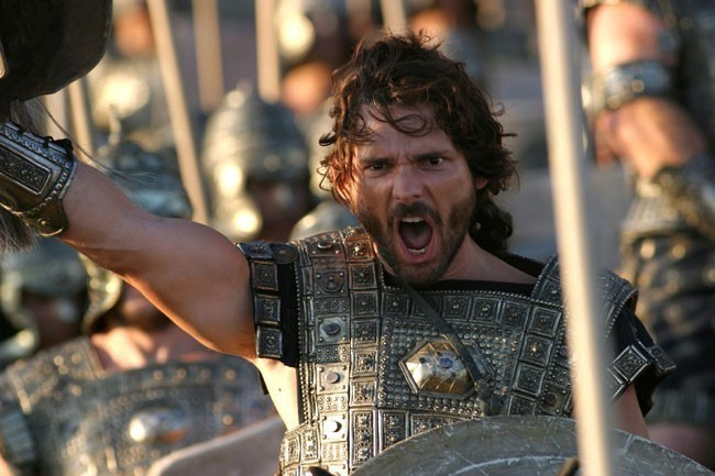 troy the movie Troy is a 2004 anglo-american action movie about the trojan war the movie was nominated for an oscar in 2005 it stars brad pitt as achilles, eric bana as hector.