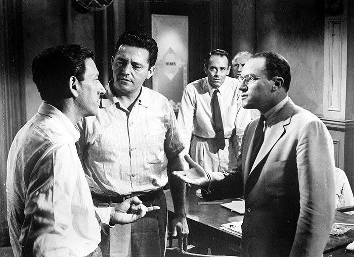 how does 12 angry men show Twelve angry men, by the american playwright reginald rose, was originally written for television, and it was broadcast live on cbs's show studio one in 1954 the fifty-minute television script can be found in rose's six television plays, published in 1956 (out of.